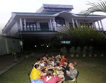 Food and Accommodation in Yoga Vidha Mandiram
