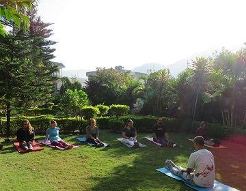Yoga in Yoga Vidya Mandiram