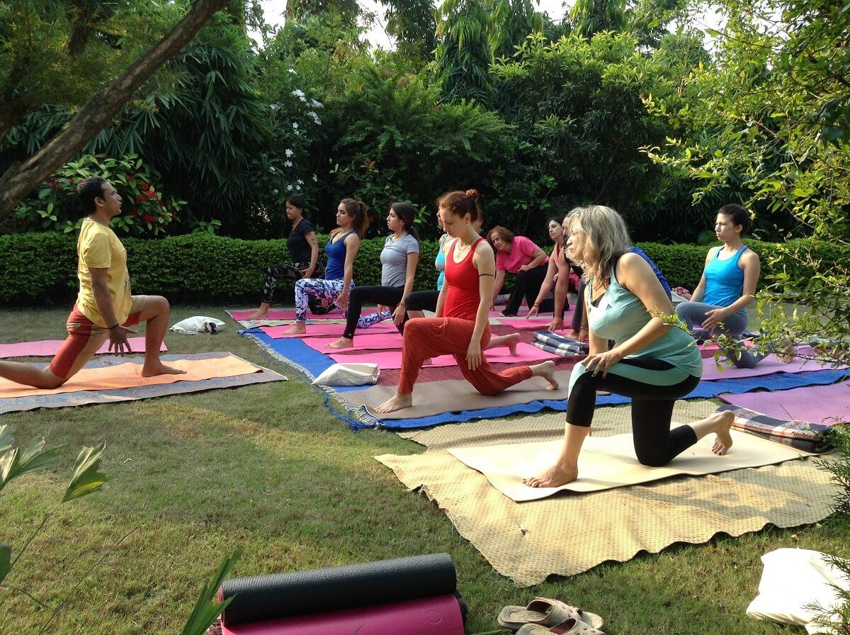 Yoga Teacher Training Course In India Yoga Vidya Mandiram 200 300 500 Hours Yoga Teacher Training School