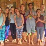 Thailand Yoga Students