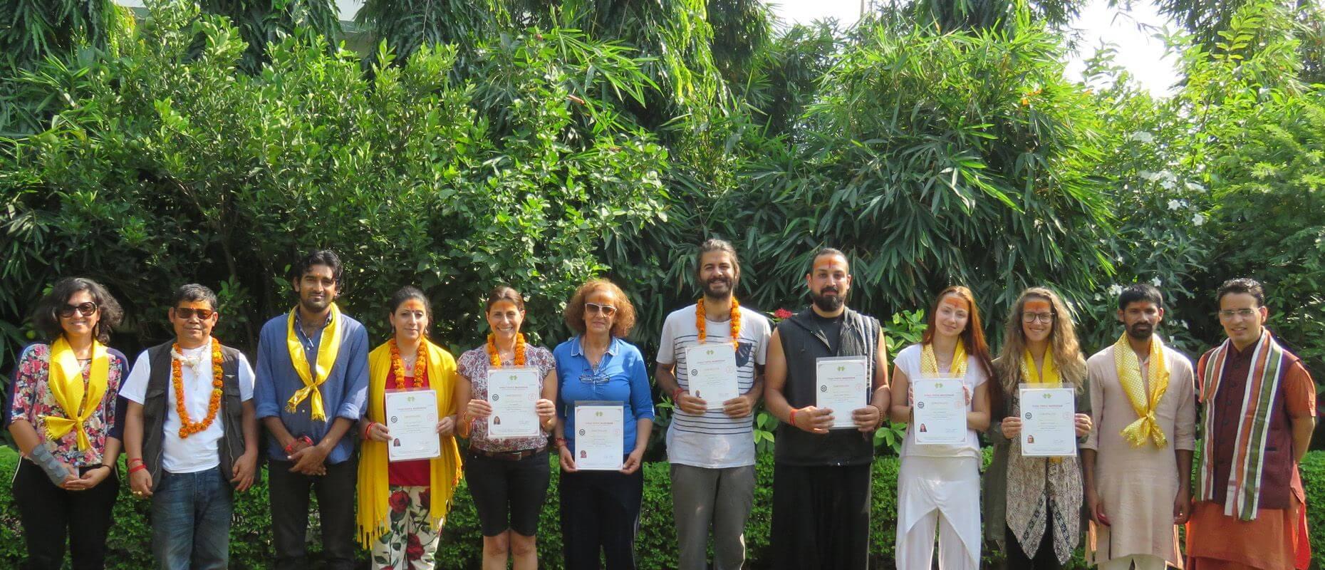 Yoga Vidya Mandiram Certification