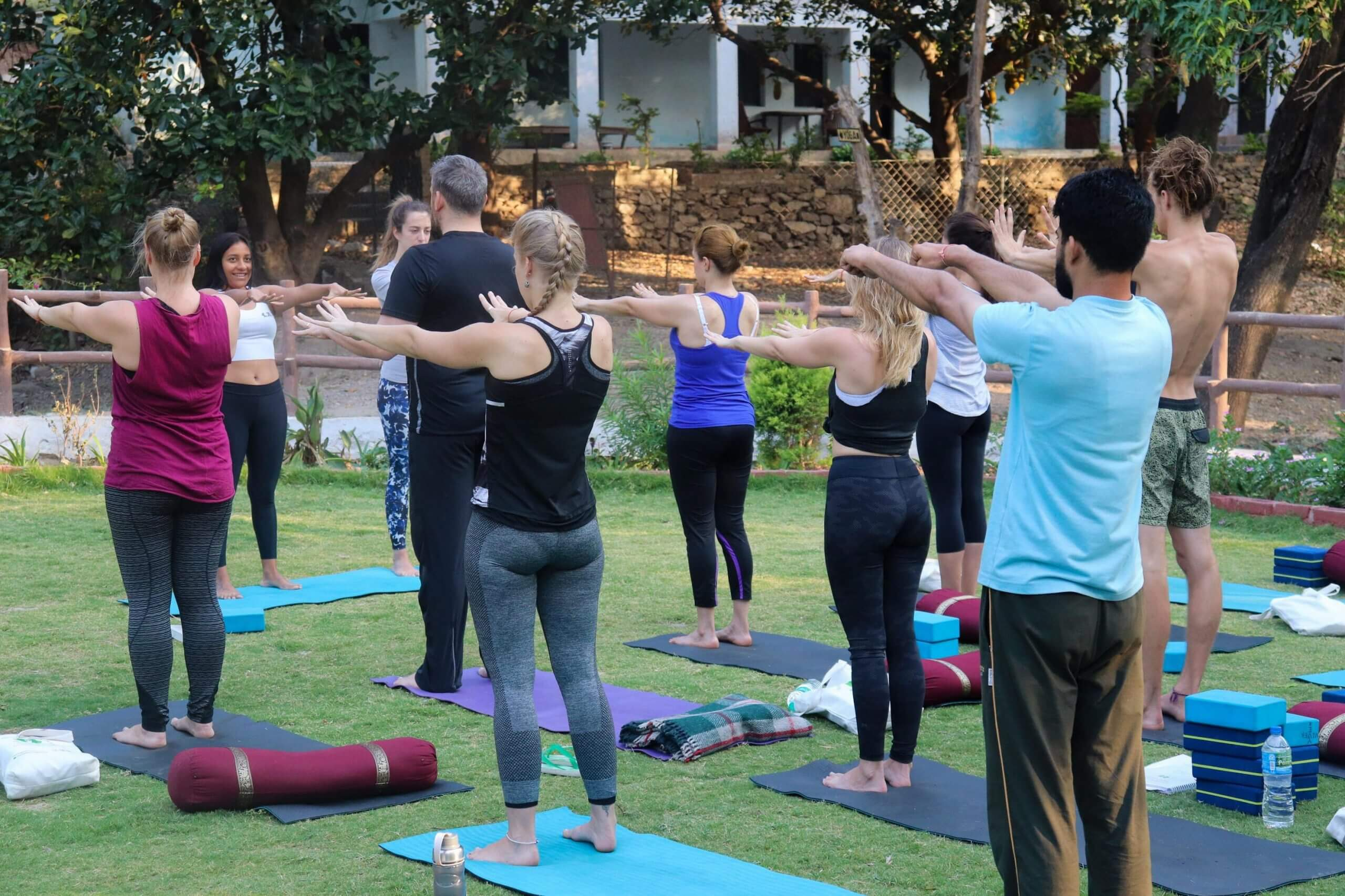 online yoga session course